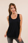 Tank Heavens Black Tank Top