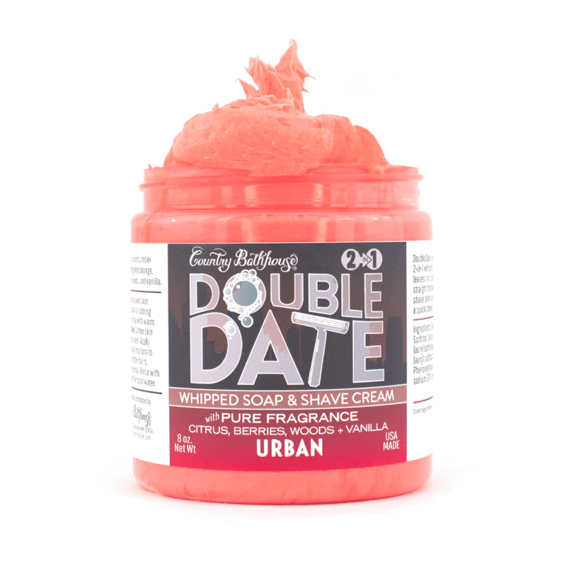 Double Date Whipped Soap and Shave - Urban