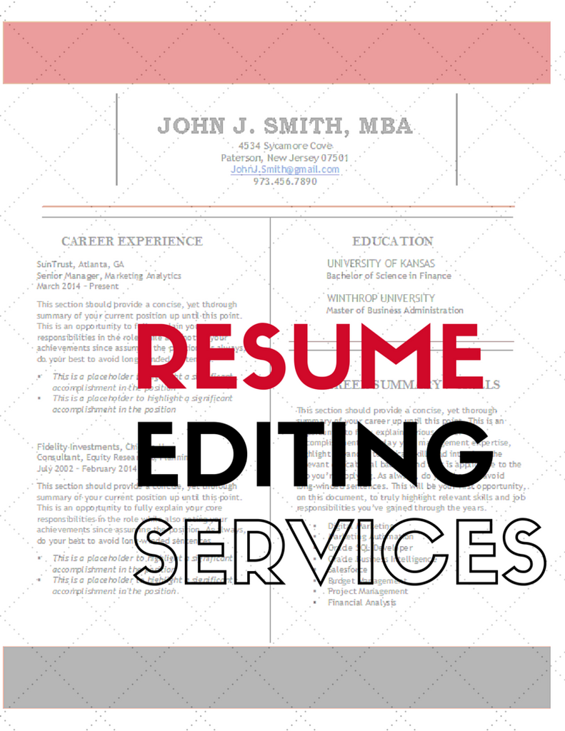 resume editing service Not sure if your resume is error free devmyresume's professional writers can edit your resume right now editing service is available 24/7.