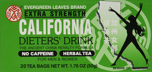 California Dieter Drink Extra Strength Tea 加州瘦身茶加强版