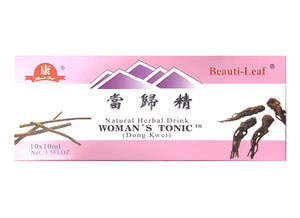 Beauti-Leaf Natural Herbal Drink Woman's Tonic ( Dong Kwei) 當歸精 3.5 Fl Oz