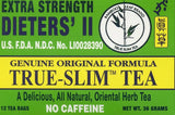 Bamboo Leaf EXTRA STRENGTH Dieters' II True-Slim Tea 竹叶牌强度真细减肥茶 12 Bags