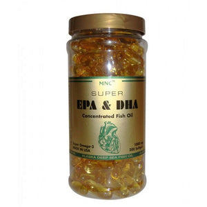 MNC Super EPA & DHA Concentrated Fish MNC浓缩深海鱼油