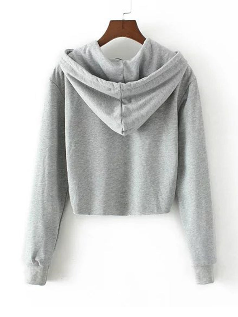 Women's Hoodie Long Sleeve Hooded Applique High Low Solid Stylish Hoodie
