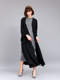 Women's Abaya Long Sleeve Solid Color Plus Size Abaya