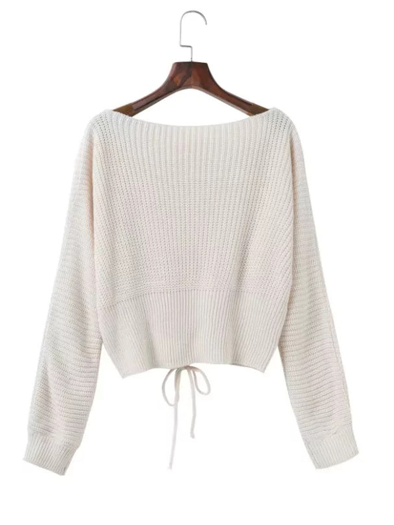 Women's Sweater Long Sleeve Solid Loose Sweater