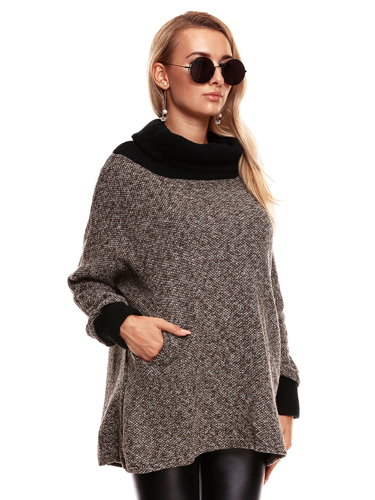 Women's Sweater Warm Long Sleeve Loose Pullover