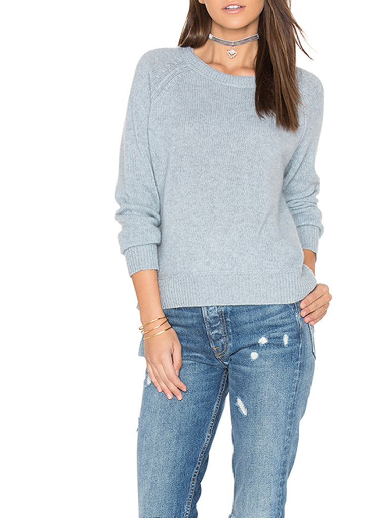 Women's Sweater O Neck Long Sleeve Solid Sweater