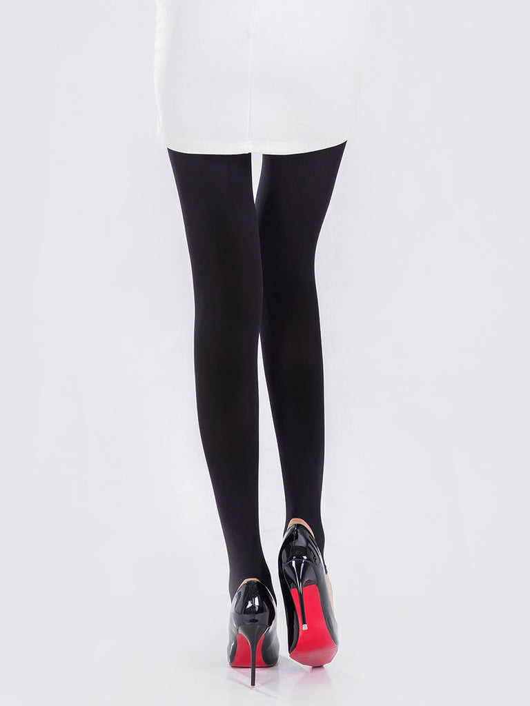 Women's Tights Solid Color 580D Breathable Elasticity Thickening Comfy Cozy Tights