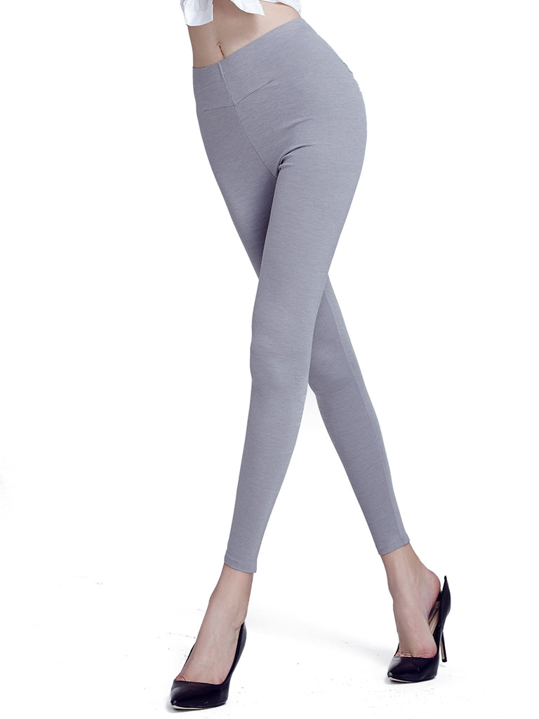Women's Leggings Solid Comfy All Match Seamless Breathable Leggings