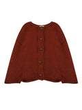 Women's Cardigan Solid Color Single Breasted Casual Knitwear