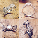 Antique Style Engagment Ring