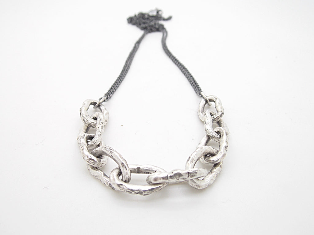 Brushed Gravel Chain - Sasha Walsh Designs