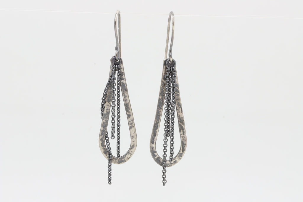 Hoop and Chain Earring - Sasha Walsh Designs