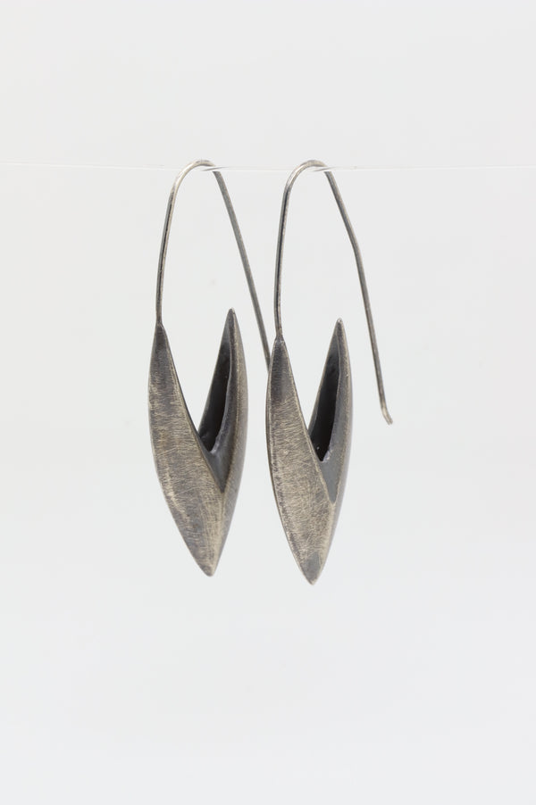 Large Shield Earring - Sasha Walsh Designs