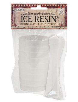 ICE Resin® 5 Mixing Cups & Stir Sticks