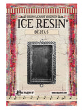 ICE Resin® Milan Bezels: Antique Silver Medium Rectangle, 1pc.