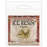 ICE Resin® Findings 7mm End Caps & Jump Rings: Antique Bronze