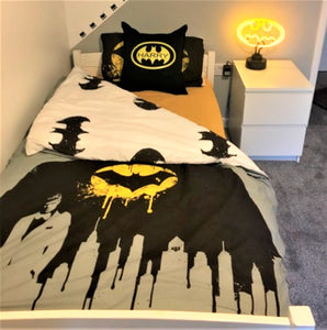Batman Cushion Personalised with Name