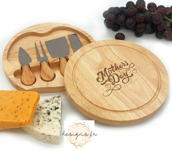 Cheeseboard Set ~ Happy Mothers Day