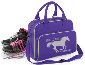 'Born To Ride' Personalised Bag