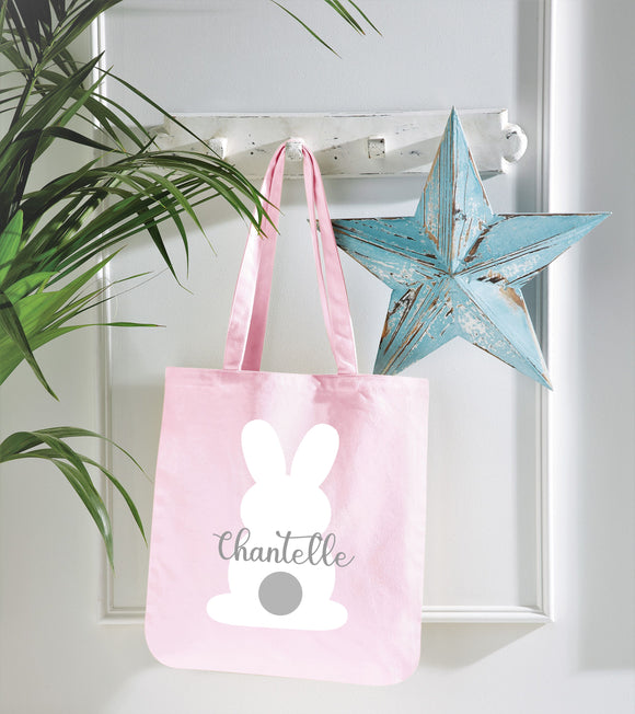 Personalised Easter Bunny Bags ~ Custom Name