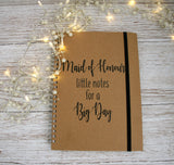 Personalised Wedding Planner Notebook Little Notes for a Big Day