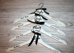 Wedding hanger ~ personalised