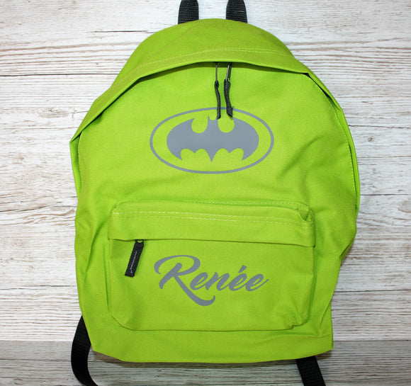Personalised Batman Rucksack