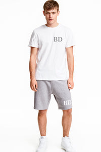 Men's Loungewear Shorts Set Personalised with Initials