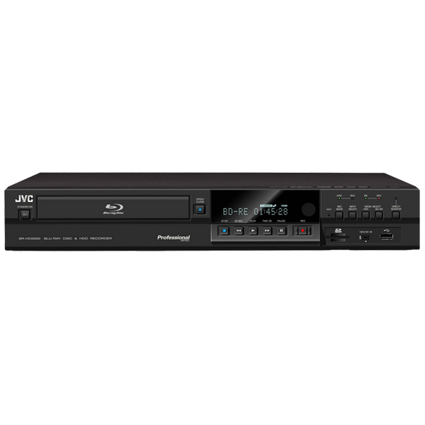 JVC Video Recorder - Blu-ray Disc & HDD Recorder - JVC SR-HD2500US