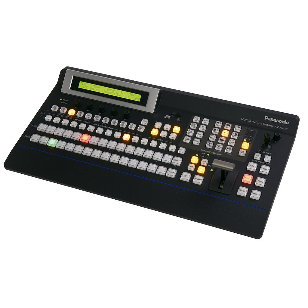 Panasonic HD / SD / SDI Video Switcher - 4 SDI Inputs & Outputs - Panasonic AV-HS450N