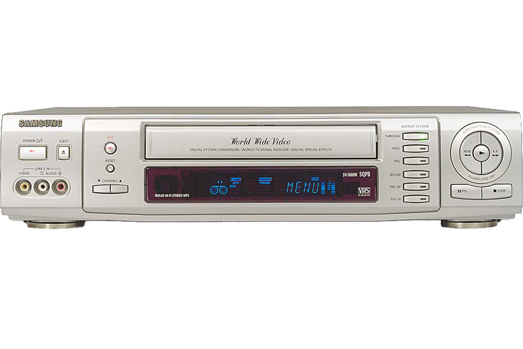 Samsung SV-5000P Multi-System Converting VCR - Overseas Model