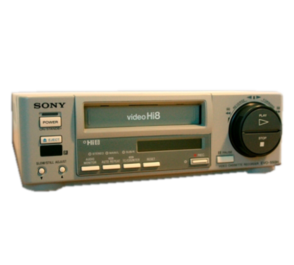 Sony EVO-550H Professional Hi8 Player / Recorder