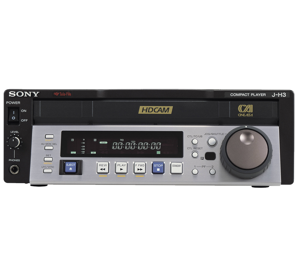 Sony J-H3 HDCAM Digital Video Cassette Player