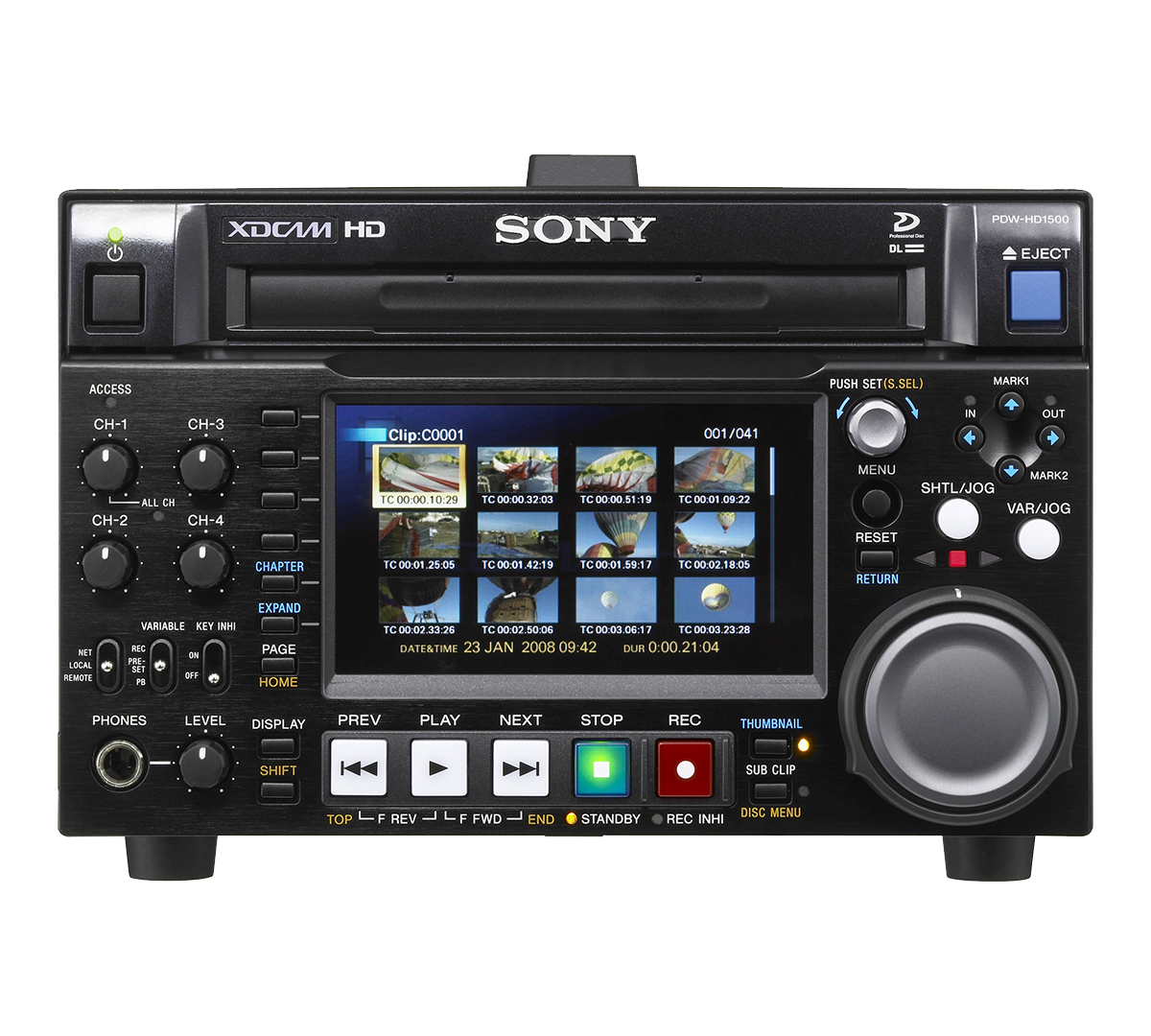Sony XDCAM Recorder - HD - Compact - Sony PDW-HD1500