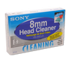 Sony 8mm Head Cleaner - Head Cleaning Cassette - Sony V8-25CLD