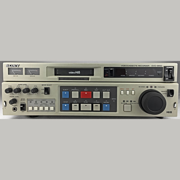 Sony Hi8 VCR - Player / Recorder - Professional - Sony EVO-9850