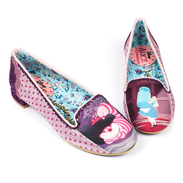 Irregular Choice x Disney Alice in Wonderland - Here's A Riddle