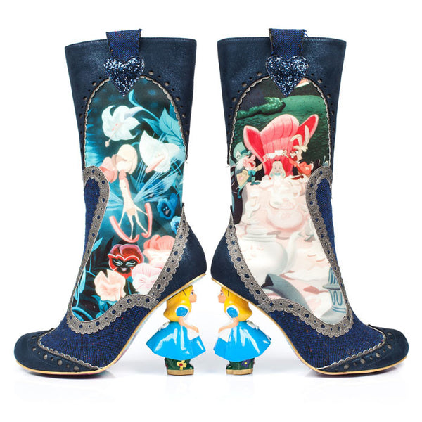 Irregular Choice x Disney Alice in Wonderland - Lost Your Muchness
