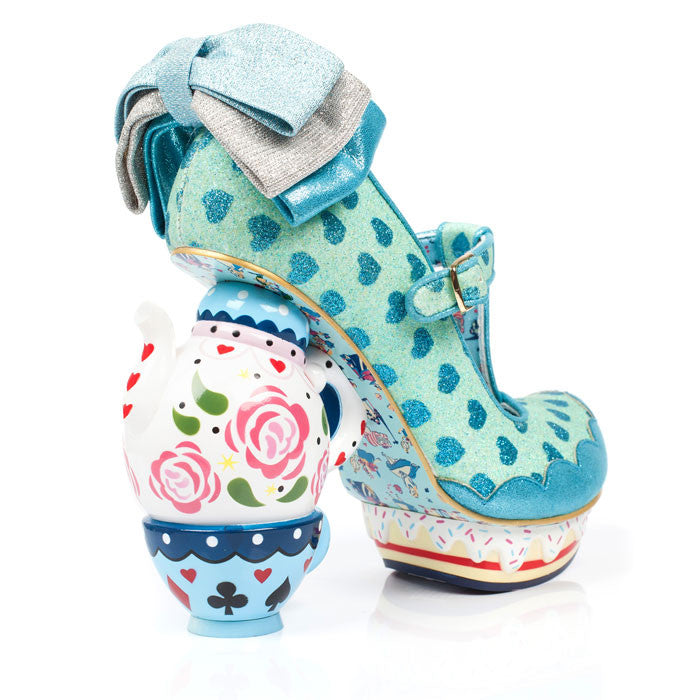 Irregular Choice x Disney Alice in Wonderland - My Cup of Tea - Blue