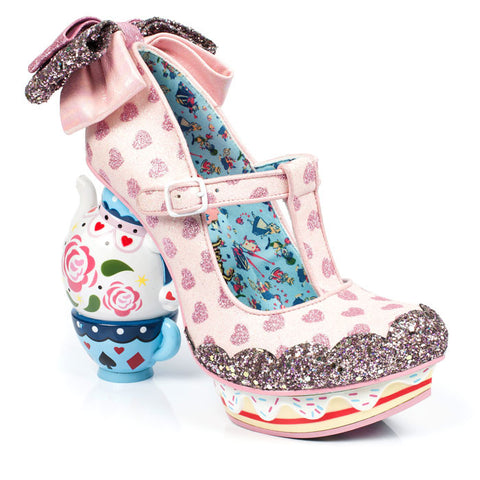 Irregular Choice x Disney Alice in Wonderland - My Cup of Tea - Pink
