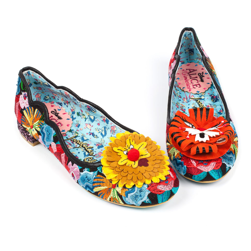 Irregular Choice x Disney Alice in Wonderland - Talk to the Flowers