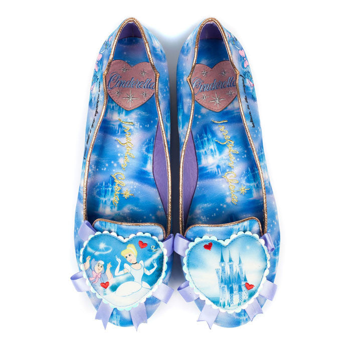 Irregular Choice x Disney Cinderella - Believe In Magic