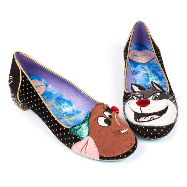 Irregular Choice x Disney Cinderella - Lucifer & Gus