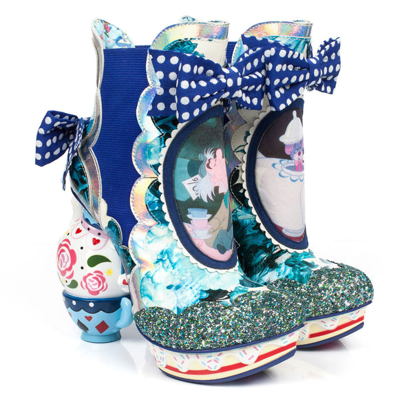 Irregular Choice x Disney Alice in Wonderland - All Mad Here