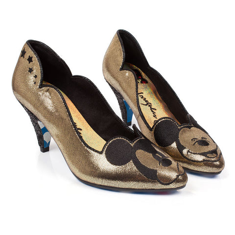 Irregular Choice x Mickey Mouse Glitzy Mickey