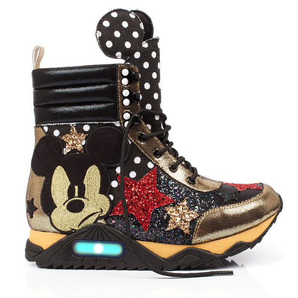 Irregular Choice x Mickey Mouse Gosh