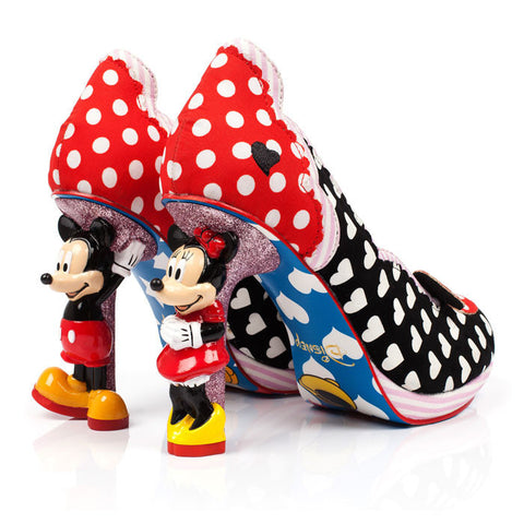 Irregular Choice x Mickey Mouse Minnie Mouse