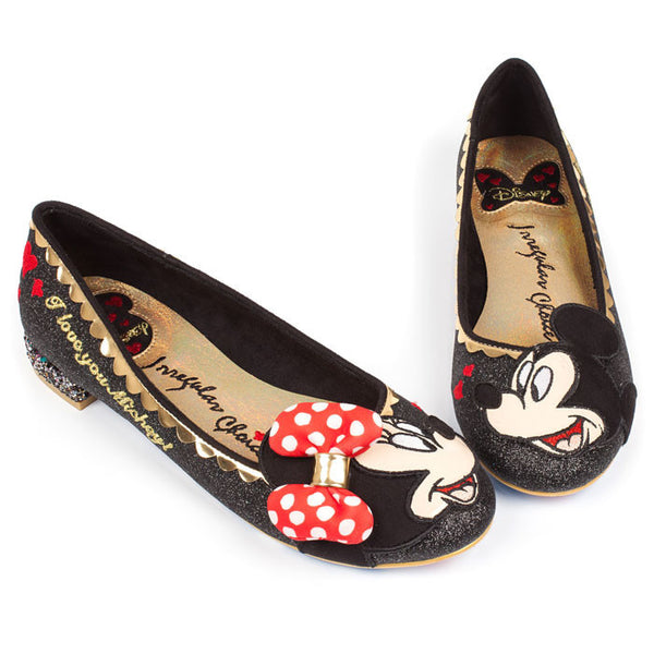 Irregular Choice x Mickey Mouse Why Hello